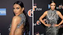 Kim Kardashian just wore a completely backless party dress