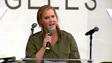 Amy Schumer Delivers Passionate Plea For Gun-Control at March for Our Lives