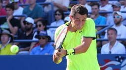 Tomic courts controversy again with lewd rant at heckler