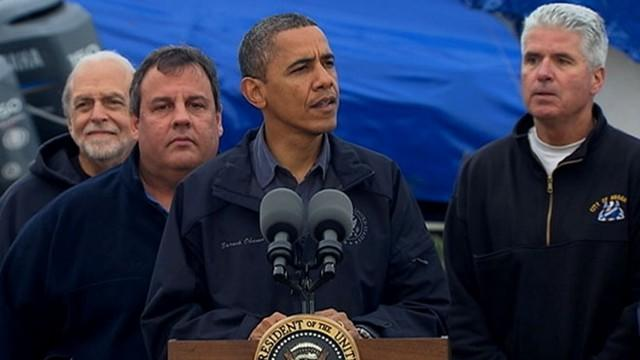 Obama: Calls Recovery a Federal, State and Local Effort