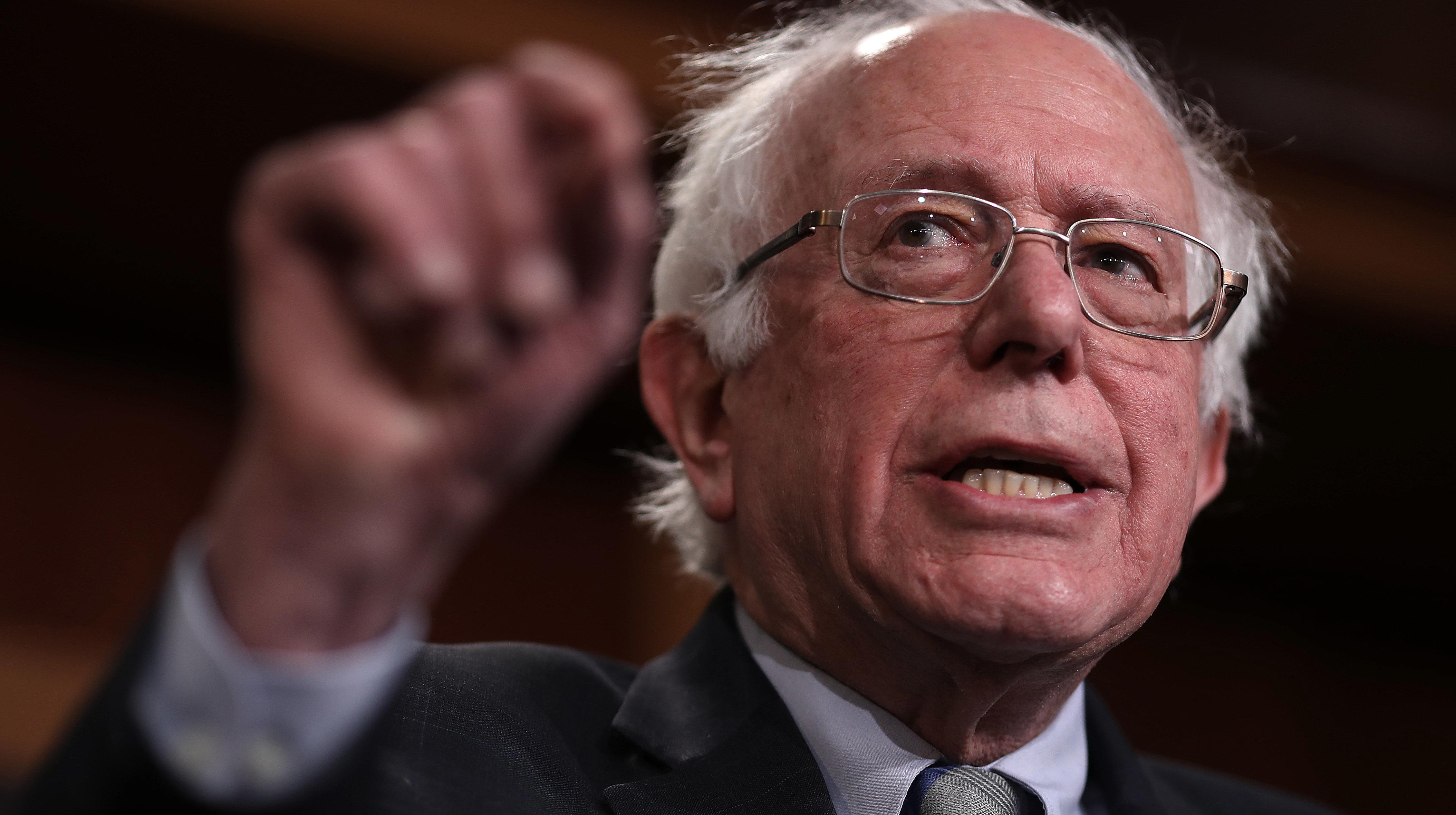 Bernie Sanders Uses Rebuttal To Fact-Check Trump's State Of The Union Speech