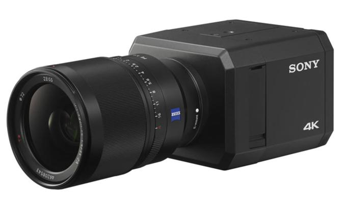 Sony's 4K security camera can spot intruders in the dark