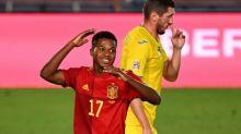 Mundo Deportivo: 'Ansu explode e alegra Lionel Messi'