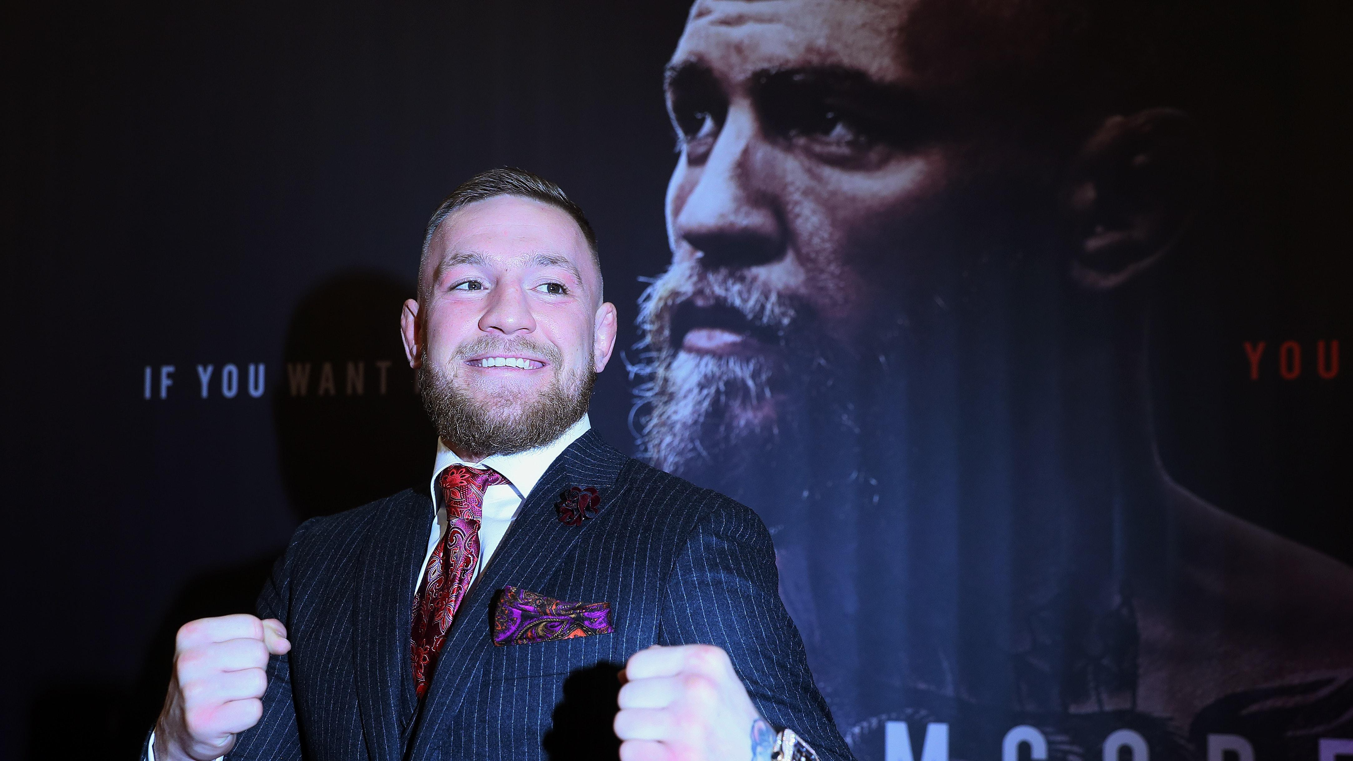 Conor Mcgregor Says Blood Will Be Spilled When He Fights