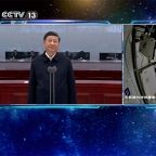 Xi congratulates Chinese astronauts aboard space station