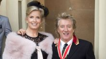 Sir Rod Stewart and Penny Lancaster renew wedding vows: 'She is my whole world'
