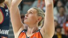 Aussie team in Super Club netball event