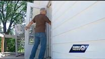 Homeowner shows off damage from copper thefts