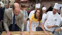 Kate Middleton y el príncipe William se vuelven panaderos