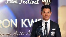Aaron Kwok honoured with Salento Cinema Actor Award