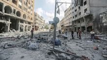 Al menos 67 palestinos muertos y más de 300 heridos por los bombardeos en Gaza