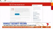 """Concerns growing over security of government's """"My Health Record"""""""