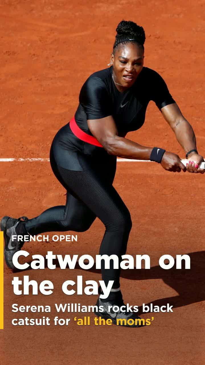 542229f32bb French Open boss pours fuel on Serena Williams catsuit controversy