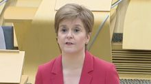 'I'm kicking myself': Nicola Sturgeon apologises in first public appearance since COVID rule breach
