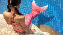 Dad Calls Mermaid Swimsuits Safety Hazards After Daughter Nearly Drowns