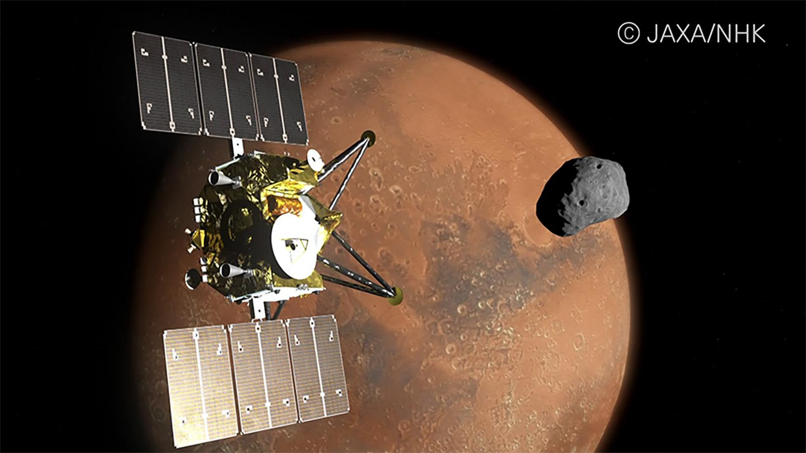 Japan will send an 8K camera to Mars and its moons | Engadget