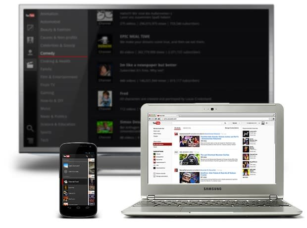 YouTube brings its guide feature to all devices, provides easier access to subscribed content