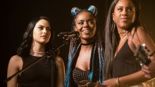 """""""Riverdale's"""" Pussycats performed for the first time LIVE at Comic-Con, and it was amazing"""