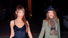 Gigi Hadid Successfully Pulls Off a Sheer Top as Wedding Attire