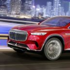 Mercedes-Maybach Ultimate Luxury fully revealed, tea set and all