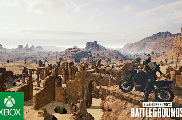 All Xbox One 'PUBG' players can access its terrible second map