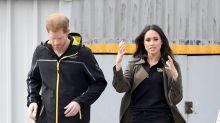 Meghan Markle y el príncipe Harry en las eliminatorias de Invictus