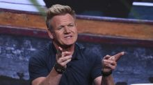 Gordon Ramsay 'fainted like an idiot' when his son was born