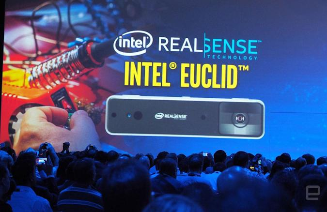Intel's Euclid is a RealSense PC the size of a candy bar