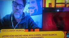 Nacho Vidal dice en 'Sálvame' que no entiende los aplausos de las 20.00 y en Twitter se lía