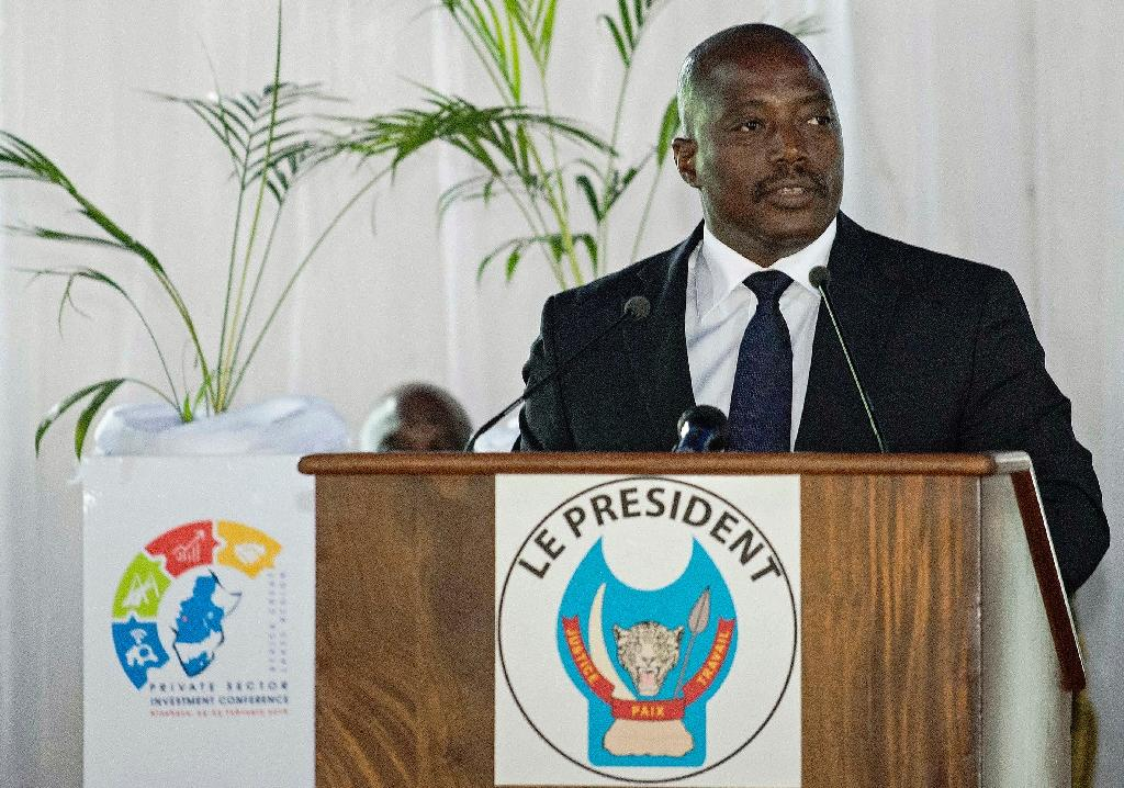 Joseph Kabila has been in power since 2001 (AFP Photo/Junior Kannah)