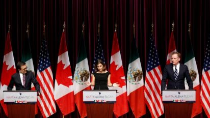 NAFTA trade ministers to square off