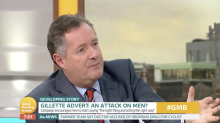 Piers Morgan launches furious rant at 'anti-masculinity' Gillette advert