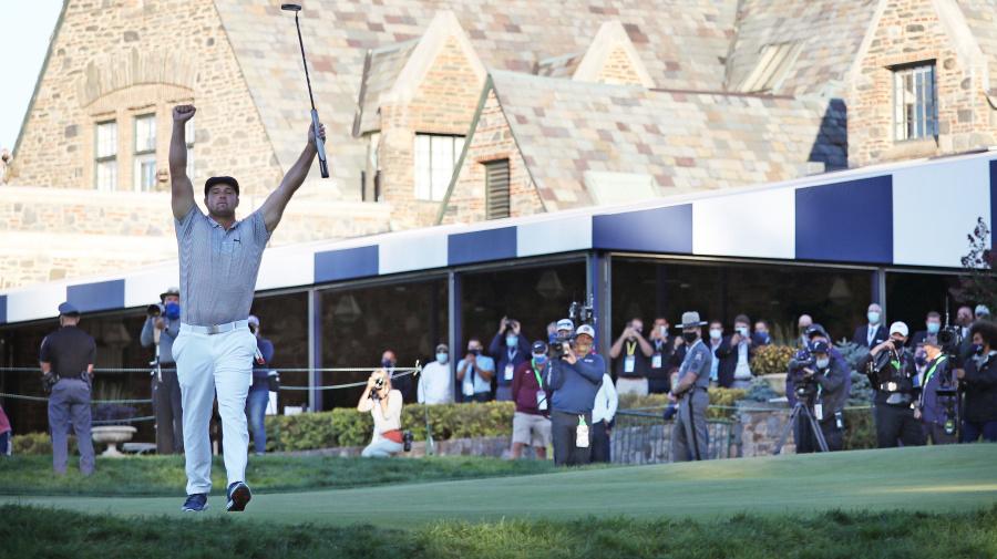 Golf: L'Américain Bryson DeChambeau remporte l'US Open, premier Majeur de sa carrière