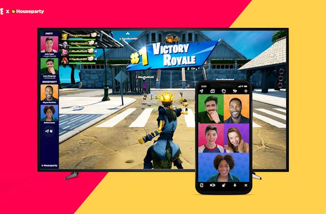 'Fortnite' now offers Houseparty video calls on PC, PS4 and PS5