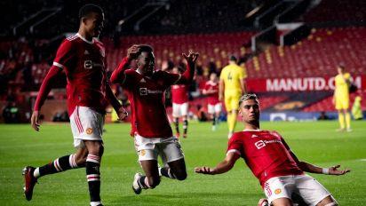 Andreas Pereira goal: Manchester United midfielder scores stunning 'Tony Yeboah' volley vs Brentford