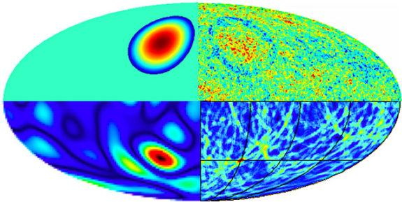 If multiple universes exist, they may collide with each other and leave behind signs in the cosmic microwave background radiation, researchers say.