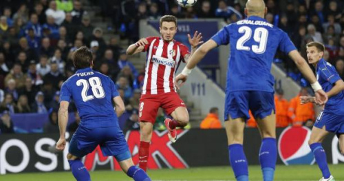 Foot - C1 - L'Atlético se qualifie pour les demi-finales dans la douleur à Leicester