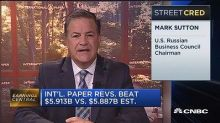 International Paper CEO: Our current tax rate creates 'co...