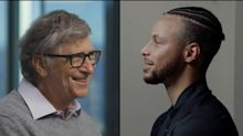 Stephen Curry Interviews Bill Gates About Pandemic in First Episode of New Series with Thought-Leaders