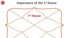 What is the 1st house in Vedic Astrology?