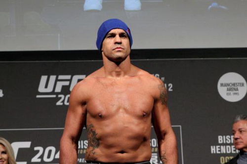 Vitor Belfort foi nocauteado por Kelvin Gastelum no UFC Fortaleza - Florian Sädler