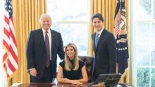 Photo of Ivanka Trump sitting in president's chair prompts mixed reaction