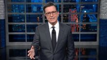 Stephen Colbert Mocks Former CBS Chief Leslie Moonves on 'Late Show'