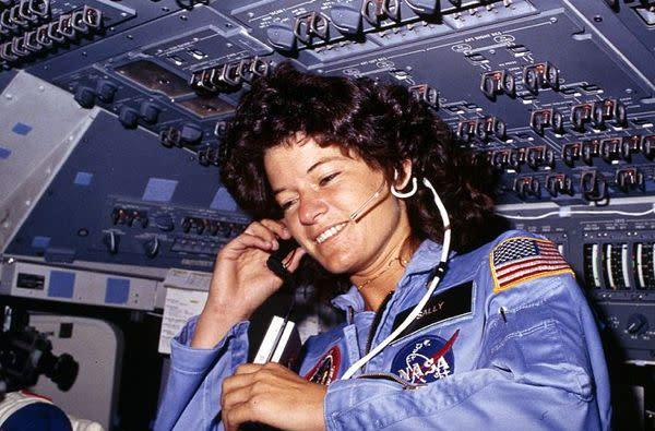 Sally Ride, first American woman in space, dies at 61 (updated)