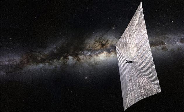 Bill Nye goes to Kickstarter to fund Sagan's solar-powered spacecraft