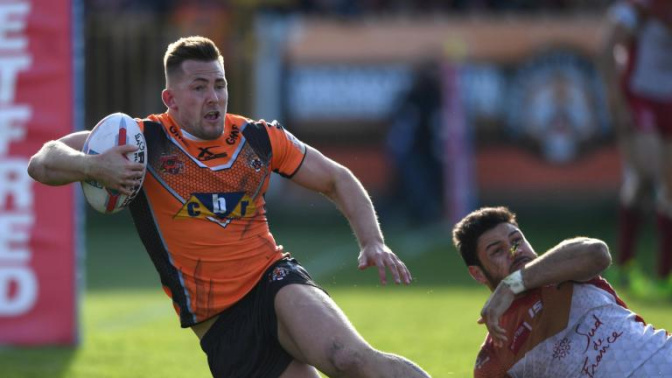 Castleford come from behind to thrash Catalans Dragons