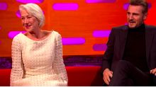 """¡Qué tiernos! Helen Mirren y Liam Neeson recuerdan su romance de hace décadas: """"Vivimos cuatro años juntos"""""""