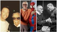 Celebrities pay tribute to Marvel Comics co-creator Stan Lee
