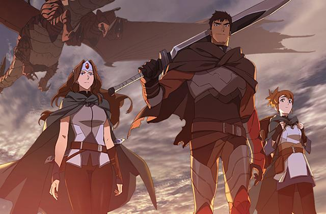 Netflix is launching a 'Dota 2' anime series in March