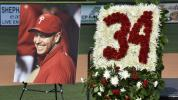 Halladay celebrated by his high school team